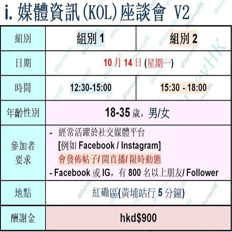 *i.媒體資訊(KOL)座談會v2*