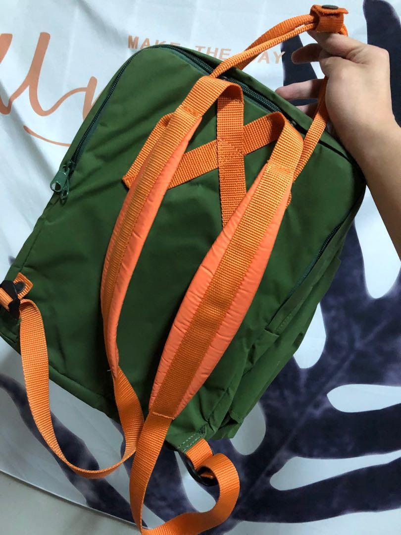Kanken 葉綠橘 13寸 laptop 北極狐 #五折清衣櫃