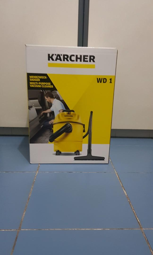 Karcher vacuum cleaner wet and dry