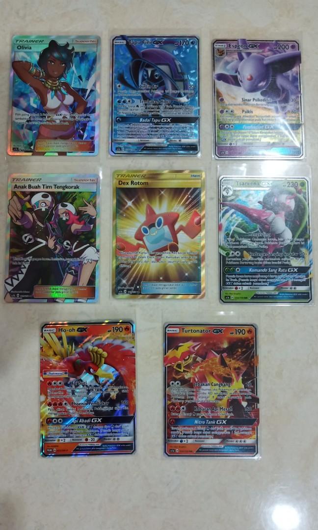 Kartu pokemon gx ambil semua 5 kartu