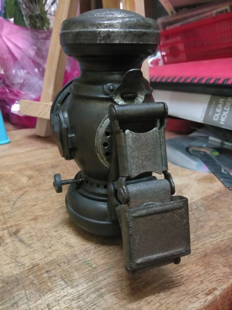 Lampu minyak tanah basikal antik