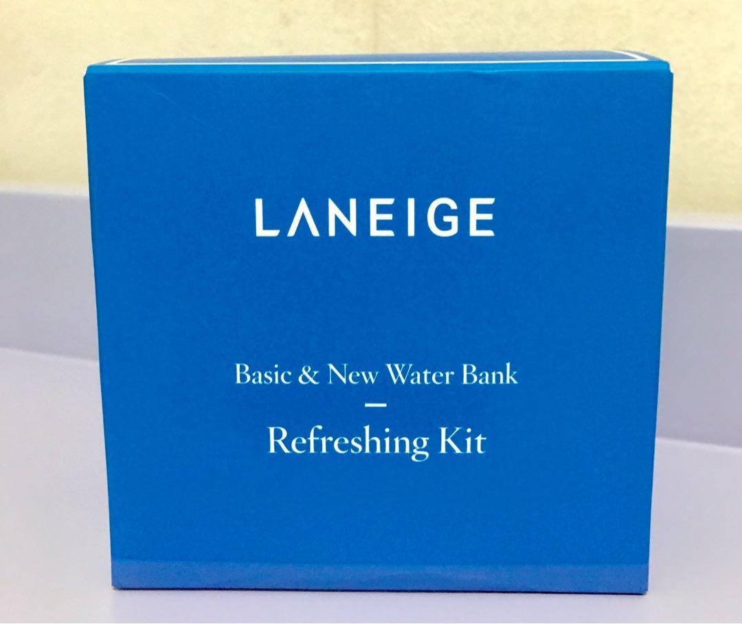 LANEIGE (5件) Basic & New Water Bank Refreshing Kit