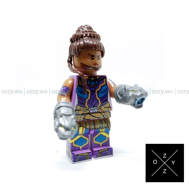 Lego Compatible Marvel Minifigures : Shuri
