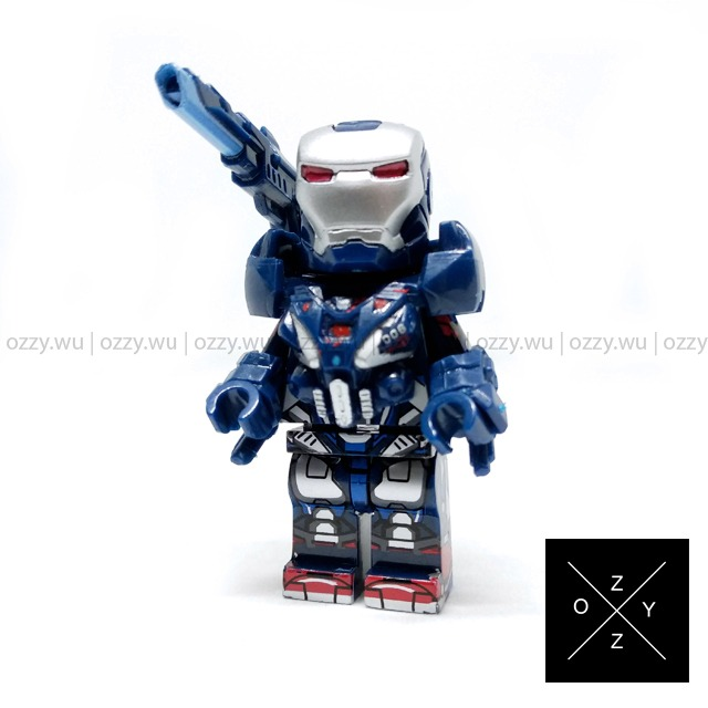 Lego Compatible Marvel Minifigures : War Machine (Mark VII)