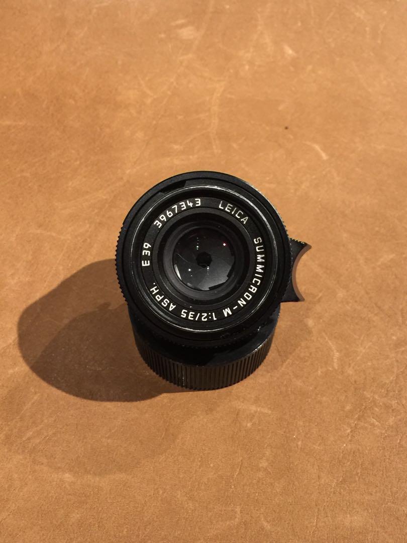Leica 35mm f2 ASPH Summicron W/hood