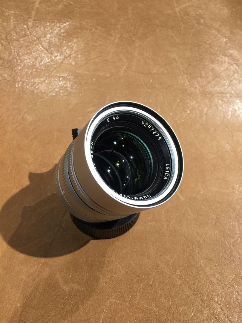 Leica Summilux 50mm f1.4 ASPH Chrome w/box
