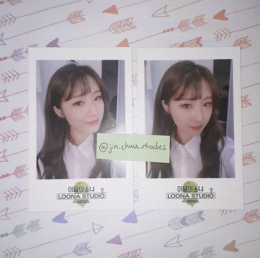 LOONA Haseul Polaroids