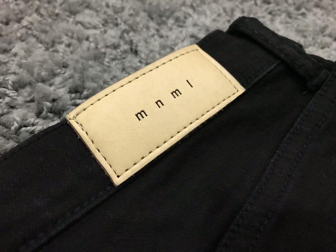 Mnml M1 Stretch Denim Black