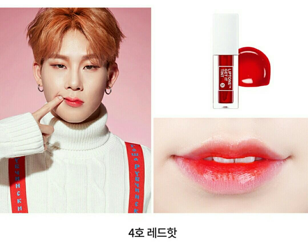 MONSTA X TONY MOLY LIPTINT W POSTCARDS SET