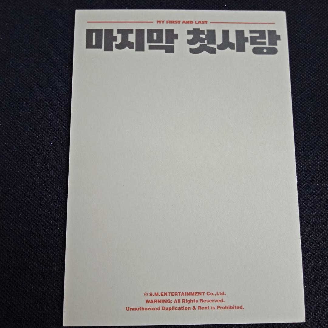 [NCT CLEARANCE SALE] Chenle & Jisung Official Postcard + SUM Photo + Taeil NCT 127 SUM Photo