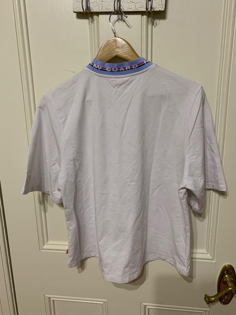 New Guard white sports top (size S) brand New Without tags