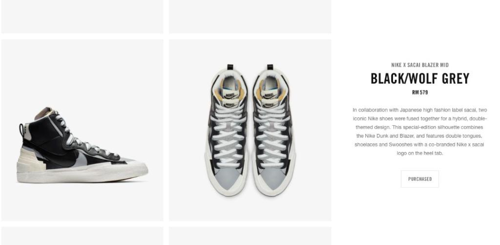 Nike Mid Blazer Sacai