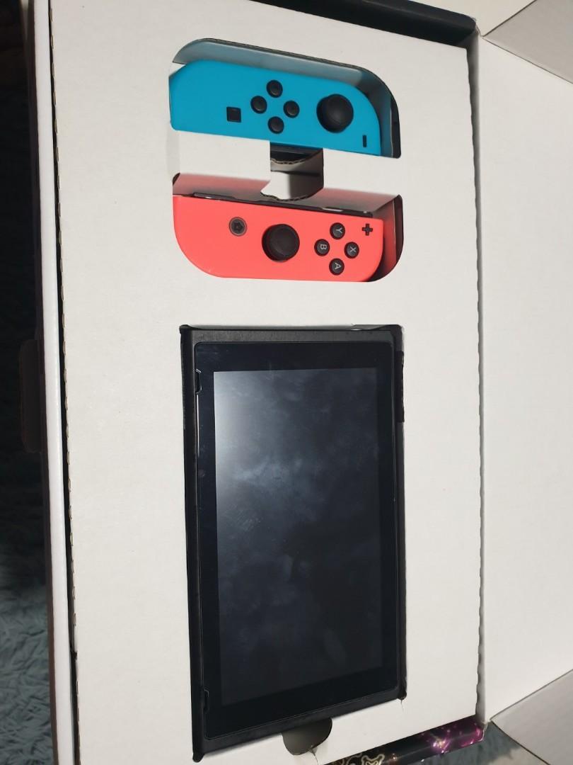 Nintendo Switch full box set