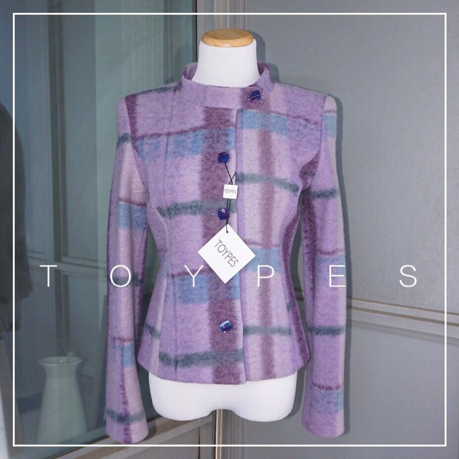 *NWT✨* TOYPES 80% Wool 50s-Inspired Coat Women Size 4