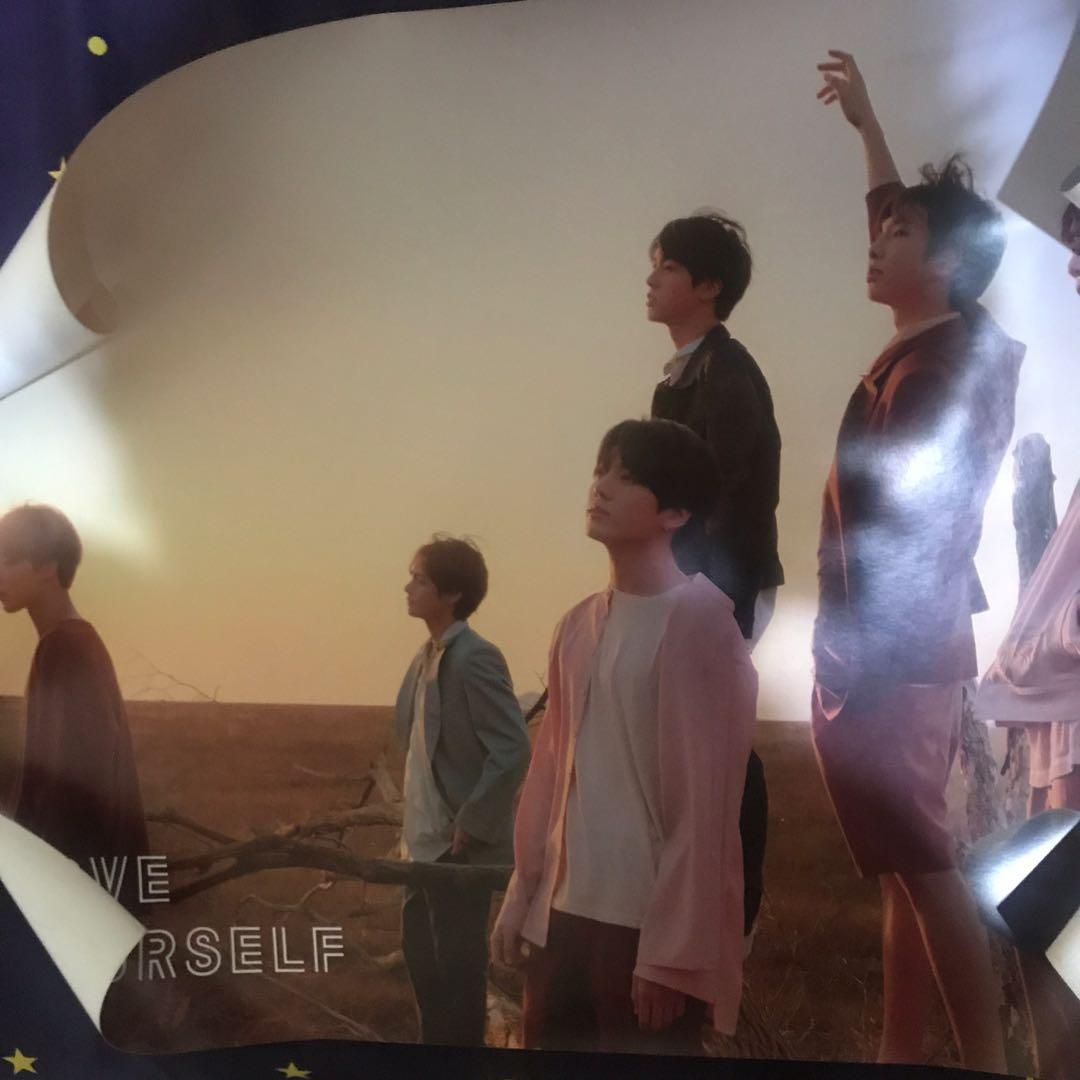 """Official Poster BTS dari album Love Yourself Tear """"Y"""" version"""