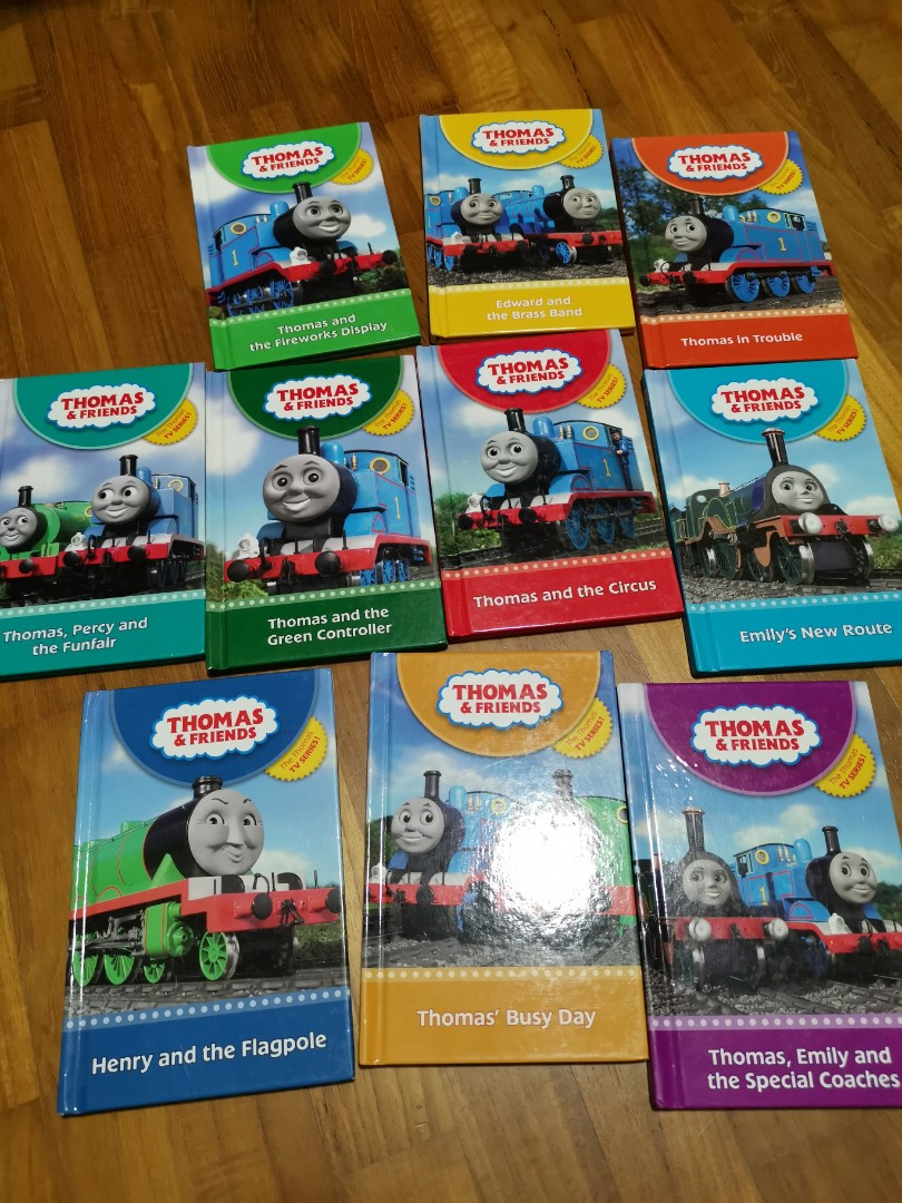 Preloved Thomas and Friends children books