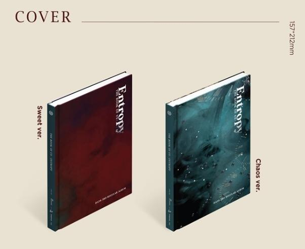 [Pre-order] DAY6 데이식스 (3RD REGULAR ALBUM 3집) - THE BOOK OF US: ENTROPY (SWEET ver. || CHAOS ver.)