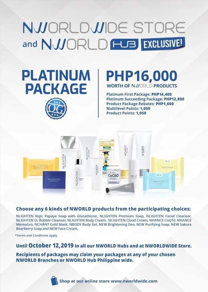 Promo Package just until 12oct