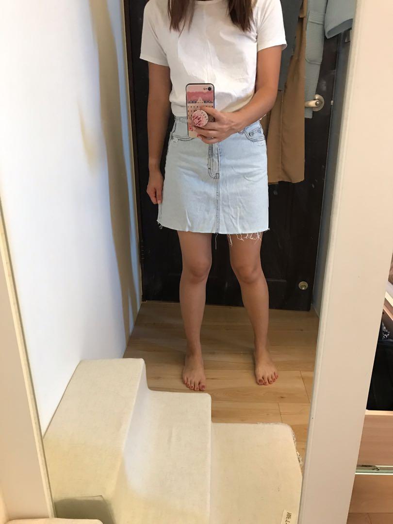 PULL&BEAR 牛仔短裙