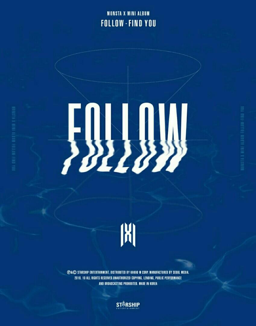 [RANDOM] MONSTA X 7th MINI ALBUM FOLLOW:FIND YOU