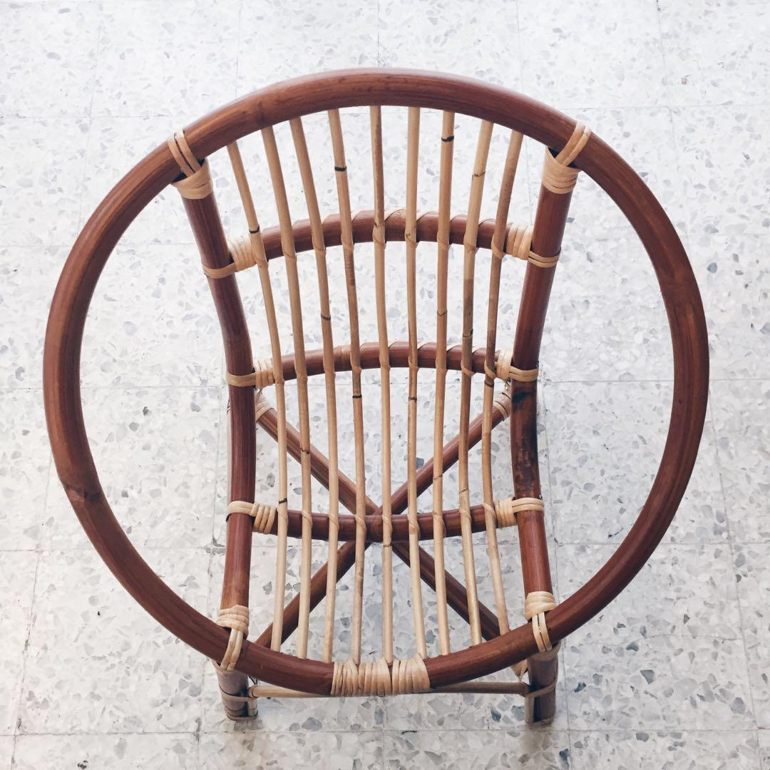 Rattan chair for kids
