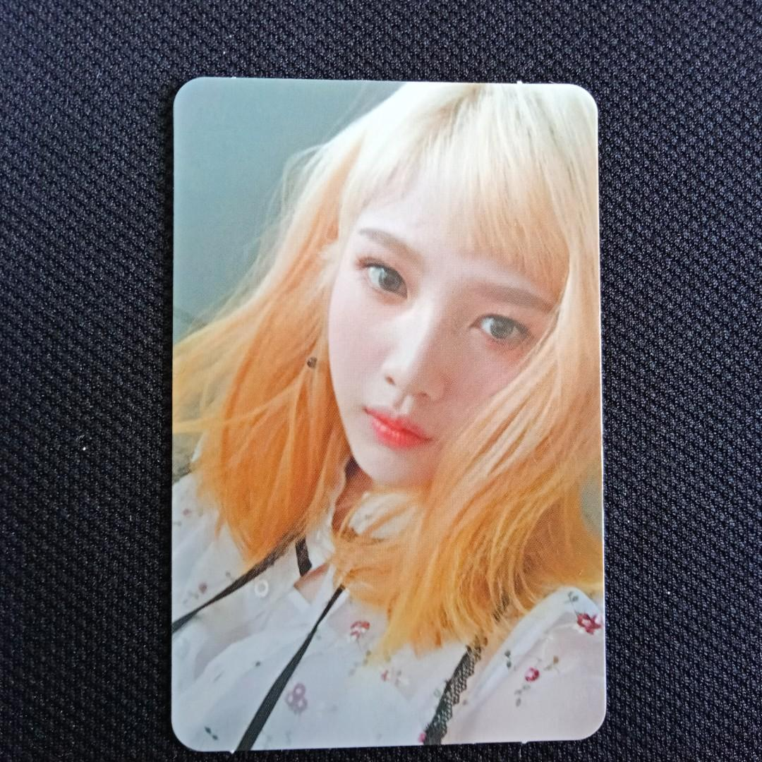 [RED VELVET CLEARANCE SALE] Joy Official Photocard - Russian Roulette