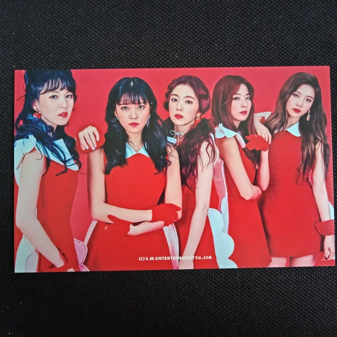 [RED VELVET CLEARANCE SALE] Rookie Official SUM COEX  4X6 Photo
