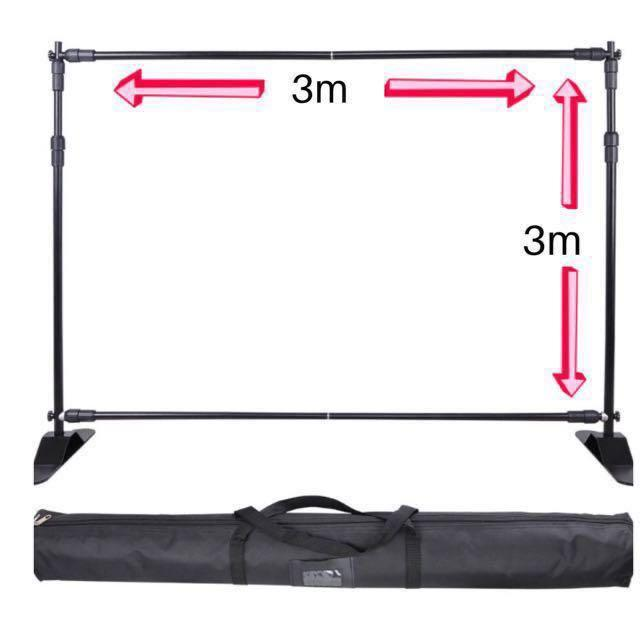 [Rent] Backdrop Stand Frame