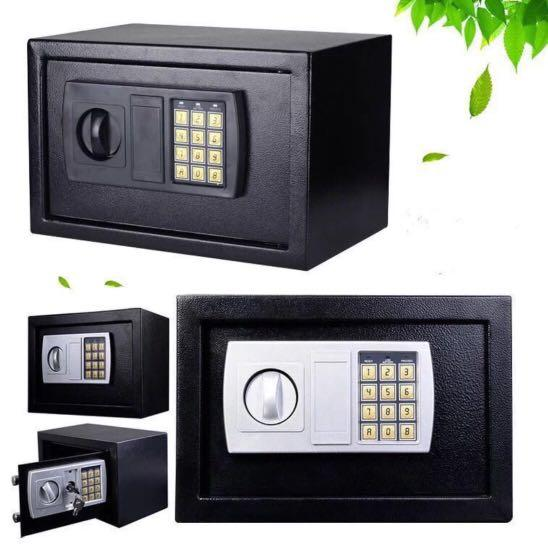 *PROMO* BNIB Safe deposit boxes Security insurance safe lock and keys wall mount