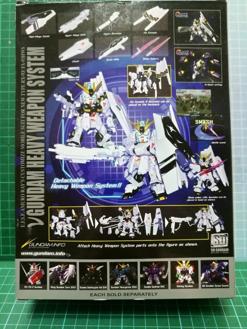 *Sale* SD Gundam New Type RX-93 / FA-93HWS