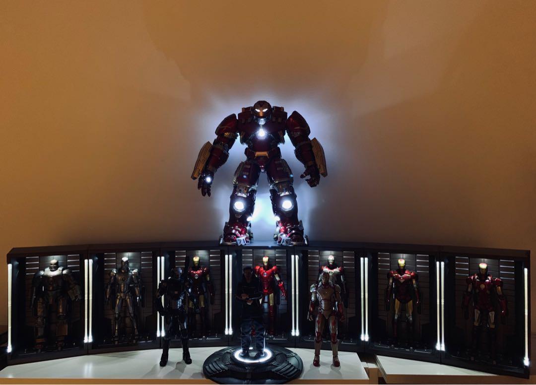 SH Figuarts Iron Man Hall of Armor