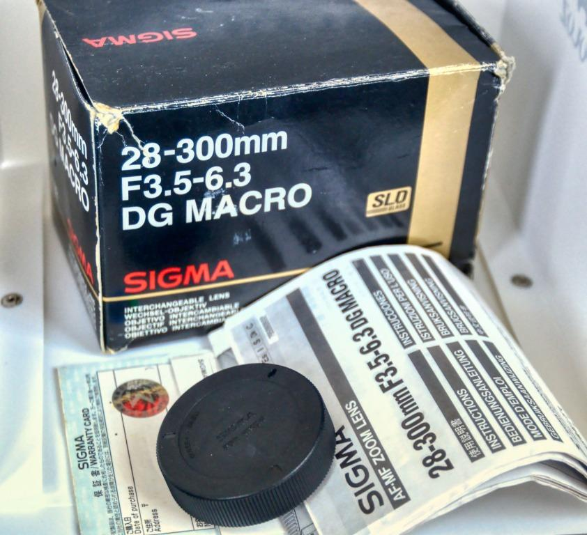 Sigma 28-300mm F3.5-6.3 DC Macro AF Lens