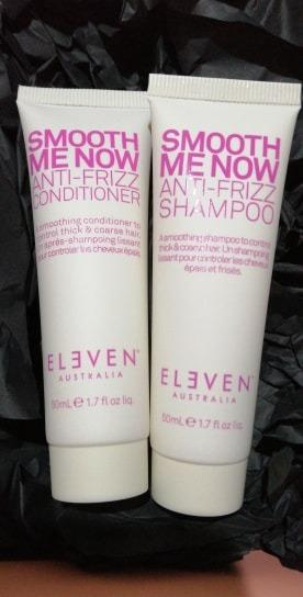 ELEVEN SMOOTH ME NOW ANTI-FRIZZ SHAMPOO 50ML ANTI-FRIZZ CONDITIONER 50ML [BRAND NEW & AUTHENTIC] NO SWAPS, PRICE IS FIRM