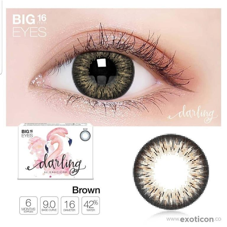 Softlens Darling Big Eyes 16mm by X2 EXOTICON