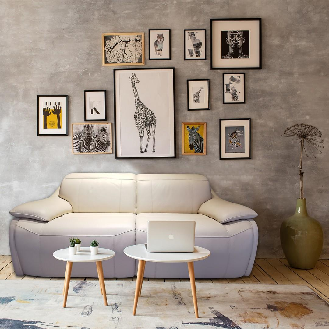 Sophia Electric recliner in premium top grain leather