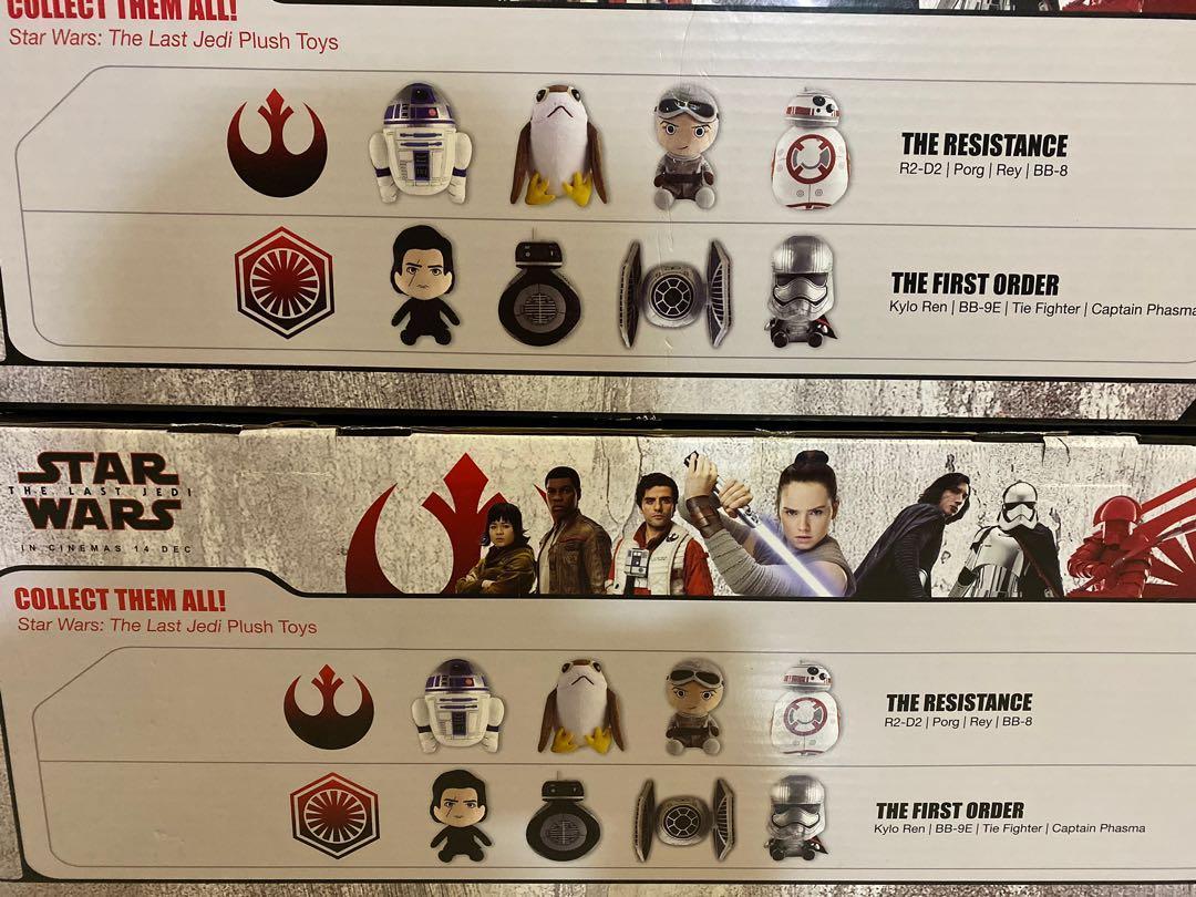 Star Wars plushies