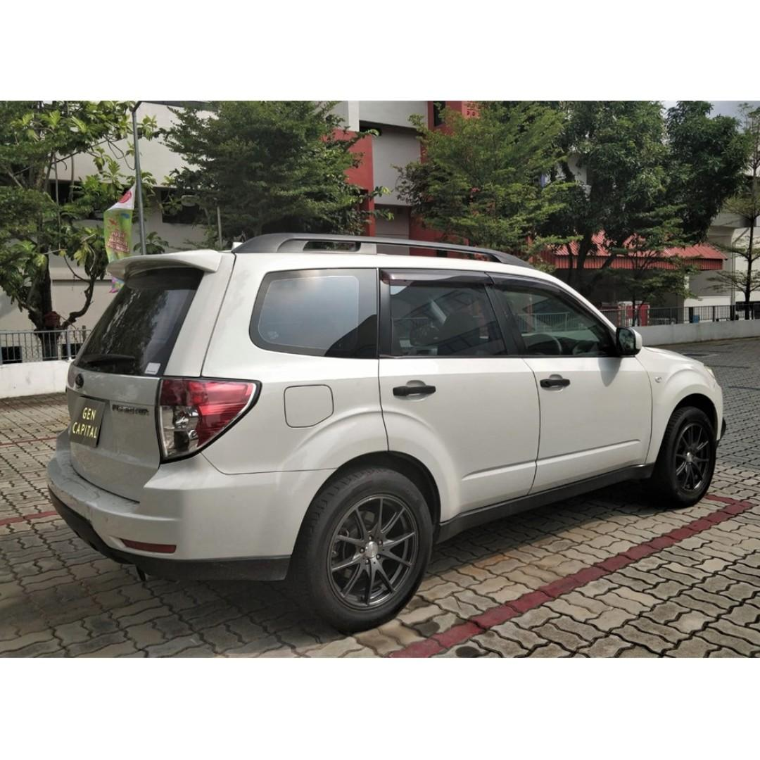 Subaru Forester 2.0 - Many ranges of car to choose from, with very reliable rates!