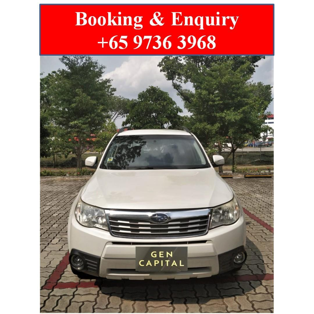 Subaru Forester 2.0A *Cheapest rates, full support!