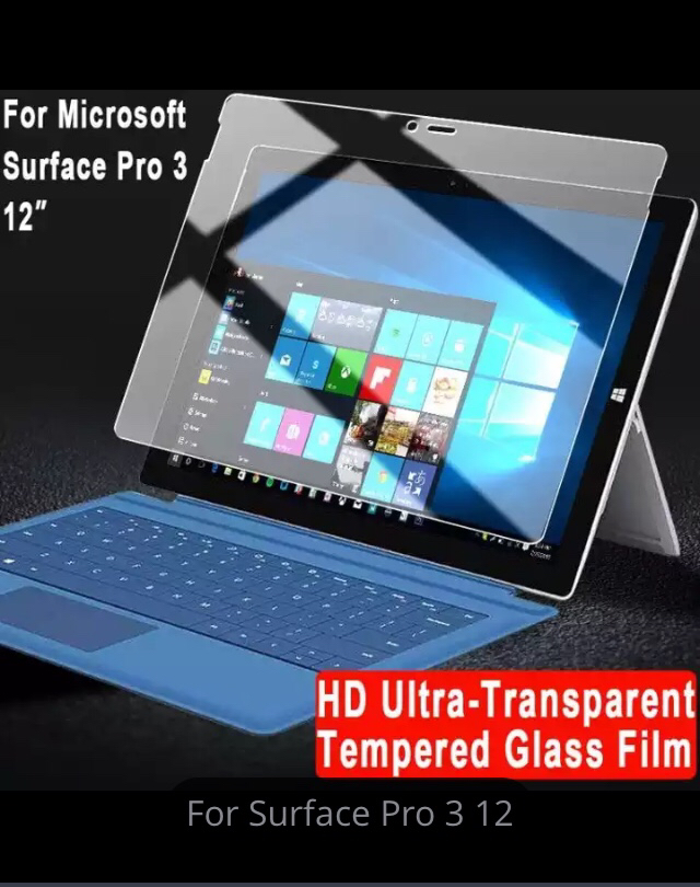 Surface Pro 3 - Tempered Glass Screen Protector
