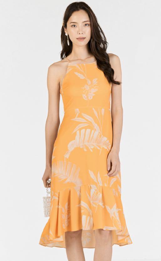 TCL Edna Foliage Midi Marigold