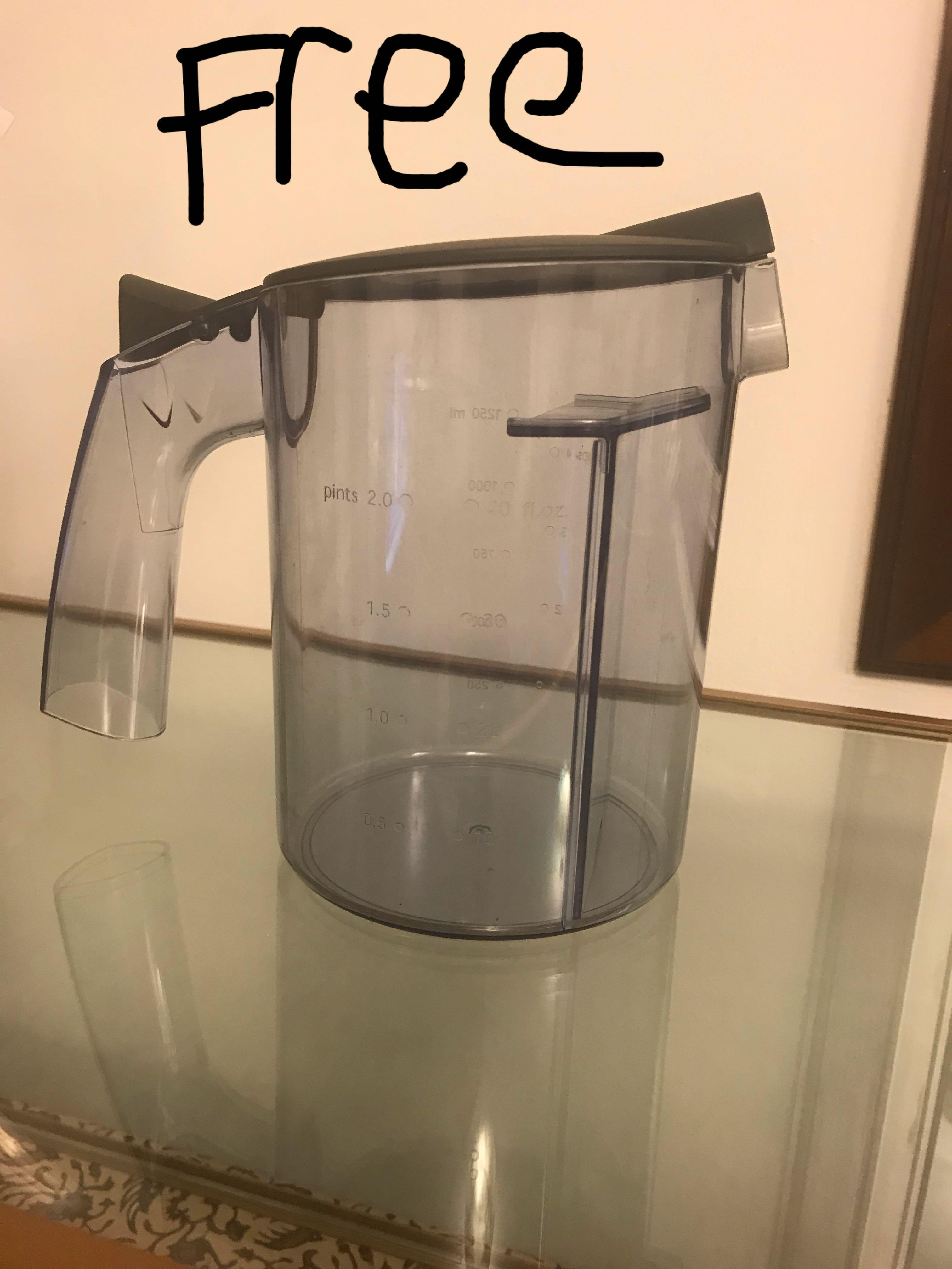 Tefal ZE350 free 1250ml juicer jar container