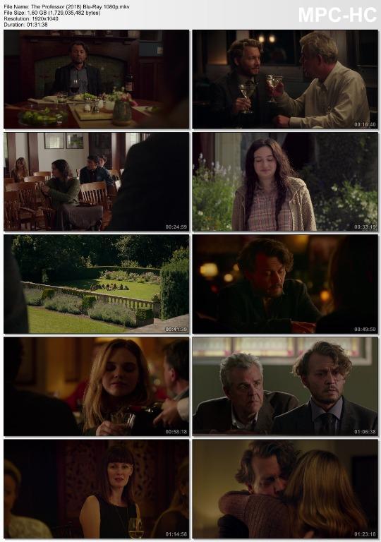 The Professor (2018) FHD 1080p Digital BluRay Movie