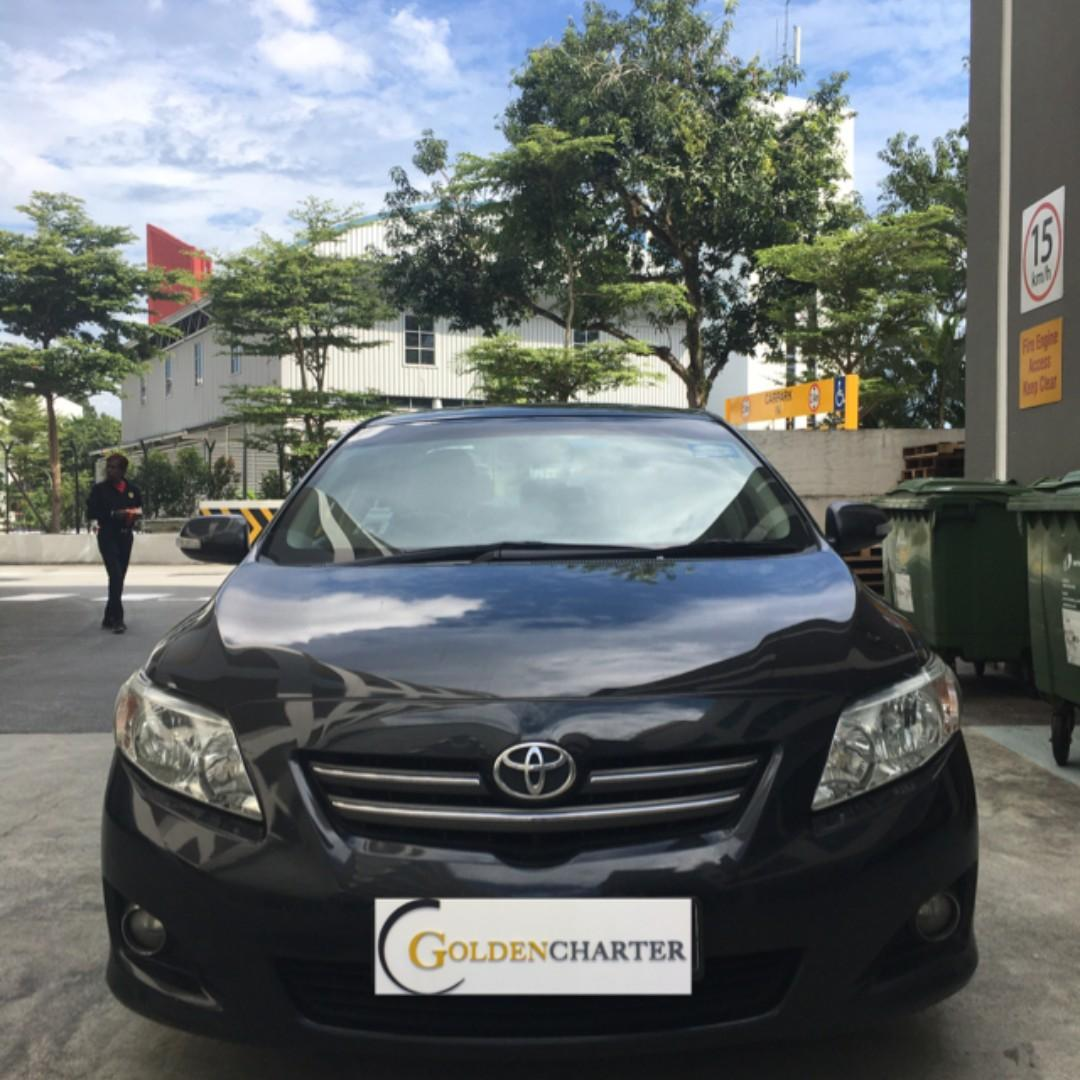 Toyota Altis For Rental ! No upfront rental | PHV | Personal |