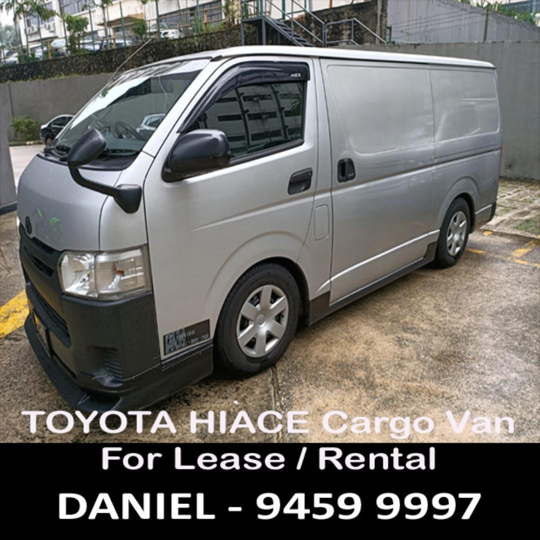 Toyota Hiace Cargo/Goods Van For Lease / Rental