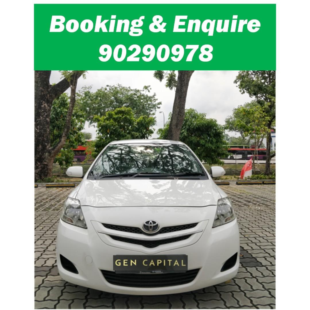 Toyota Vios - Many ranges of car to choose from, with very reliable rates!