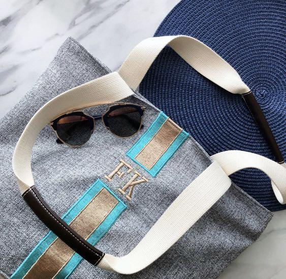 TRAVELLING BAG embroidery