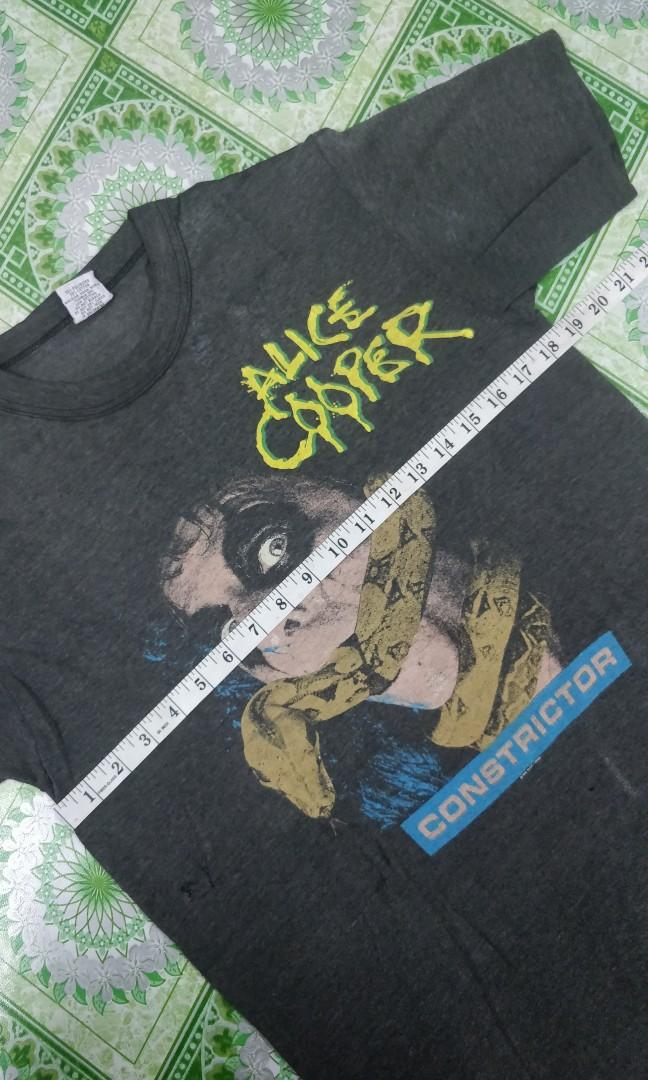 Vtg Alice Cooper band shirt