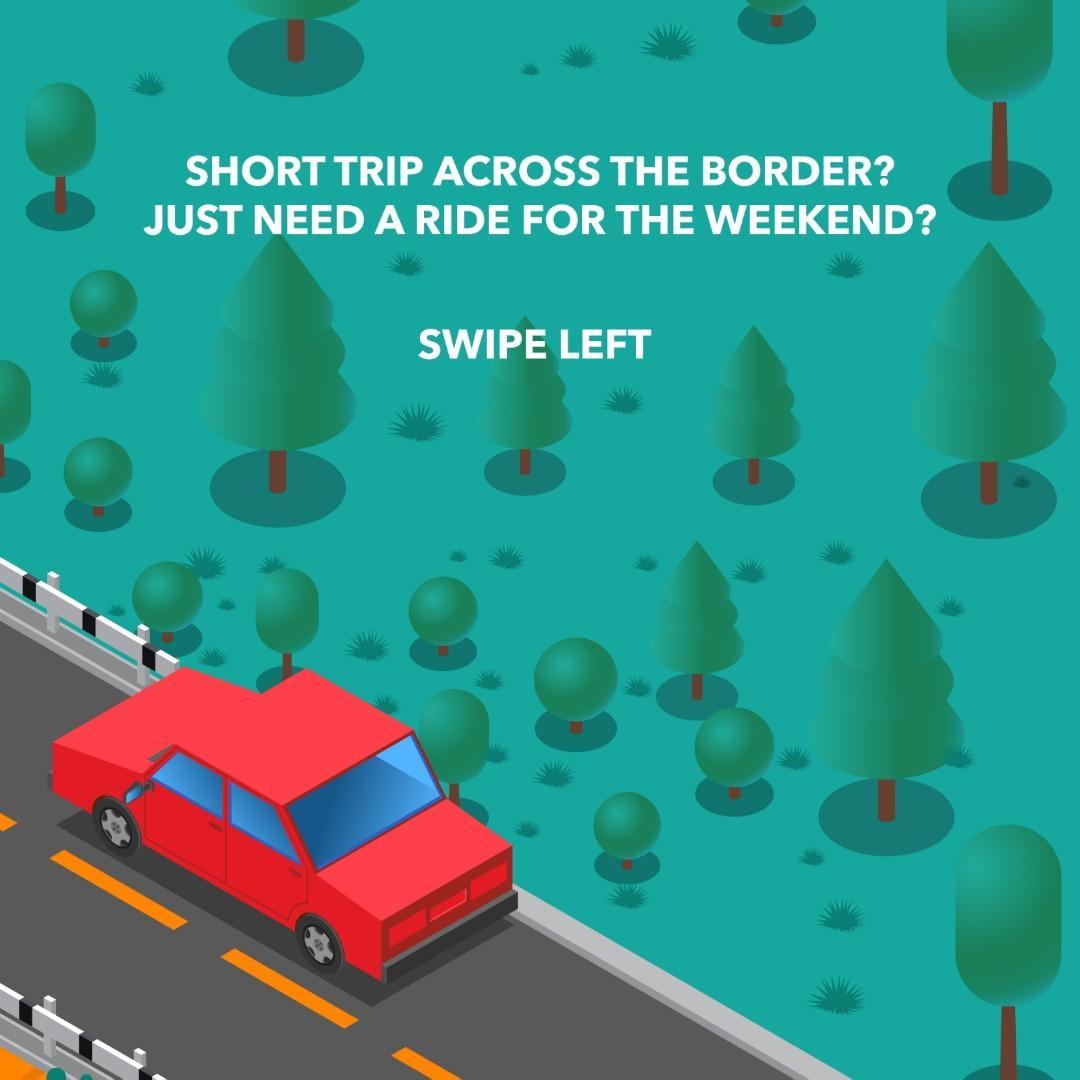 Weekend Package Rental Car Mazda 3 Available!!