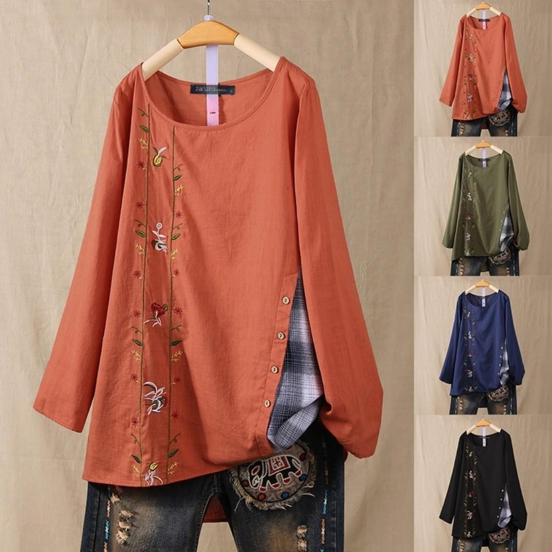 WOMAN BLOUSE UP TO 5XL