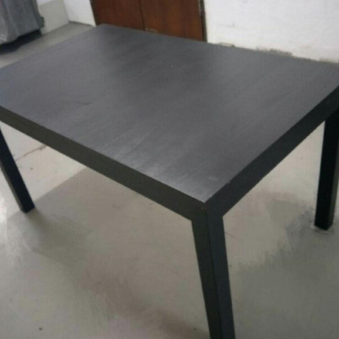 Wood dining table with free delivery